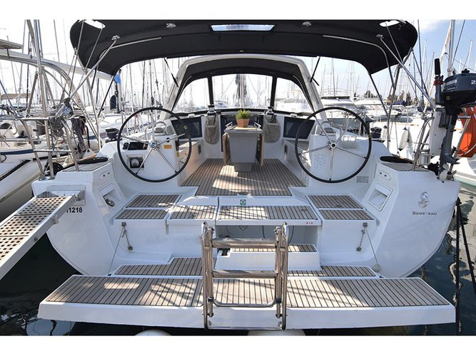 Rent this Beneteau Oceanis 45_2015 for a true nautical adventure