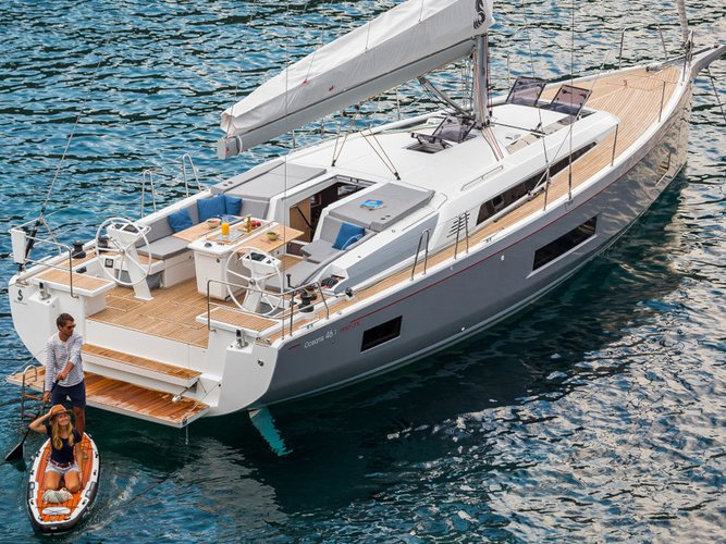 Rent this Beneteau Oceanis 46.1 for a true nautical adventure
