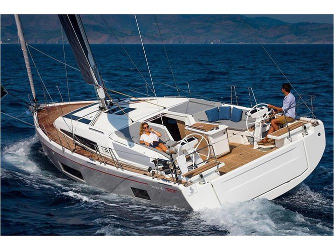 Experience Lefkada, GR on board this amazing Beneteau Oceanis 46.1