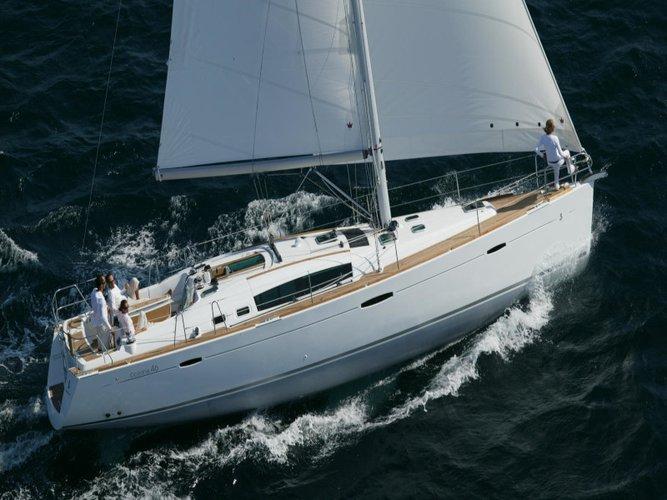 Explore Las Galletas on this beautiful sailboat for rent
