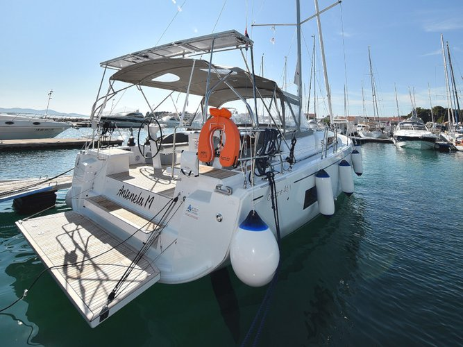 Get on the water and enjoy Zadar in style on our Beneteau Oceanis 46.1