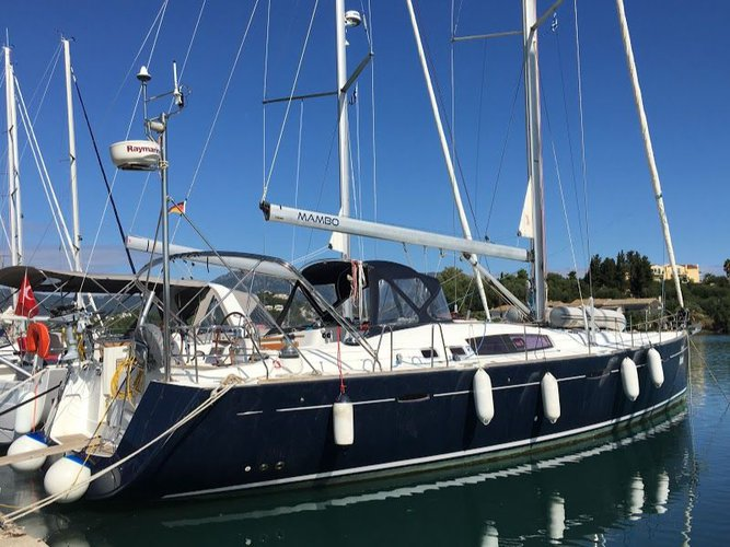 Enjoy luxury and comfort on this Corfu sailboat charter