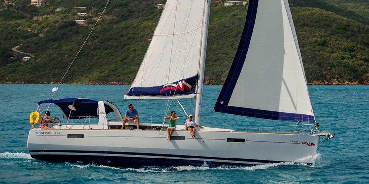 Monohull boat rental in Rodney Bay Marina, St. Lucia