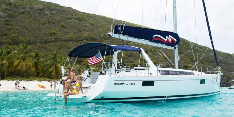 Boating is fun with a Monohull in St. Georges