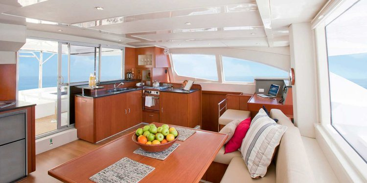 Discover St Lucia - Castries surroundings on this 4800 Custom boat