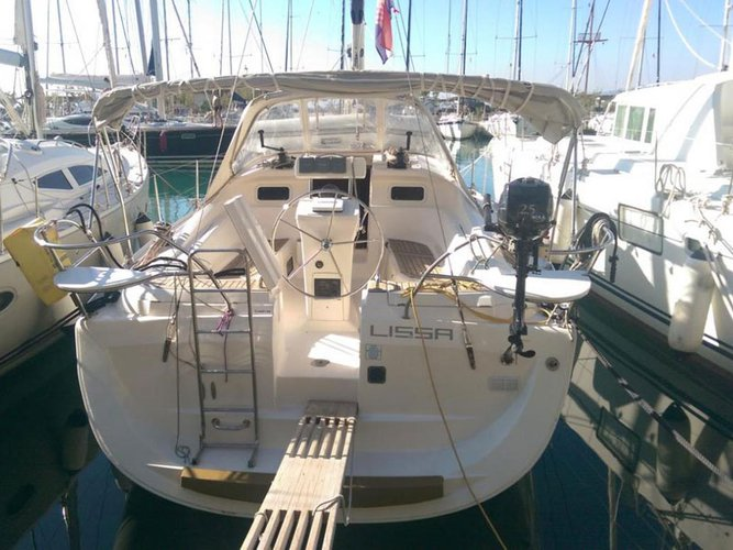 Hop aboard this amazing sailboat rental in Baška Voda!