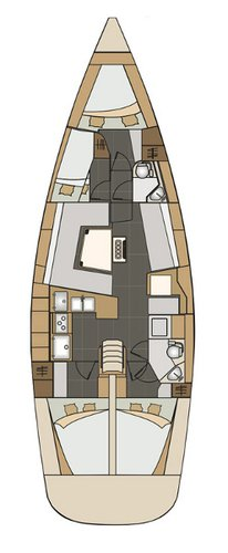 Boat for rent Elan Marine 45.0 feet in Marina Kastela, Kastela, Croatia