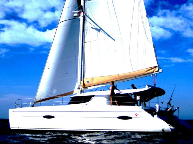 Charter this amazing Fountaine Pajot Lipari 41 in Santa Cruse de Tenerife, ES