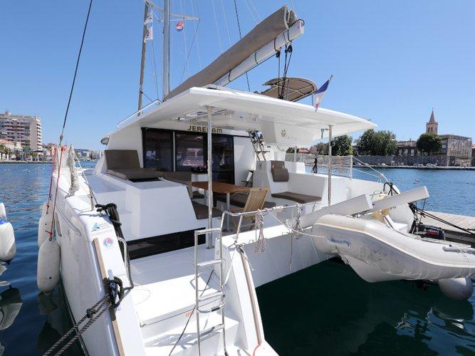 Sail Zadar, HR waters on a beautiful Fountaine Pajot Helia 44