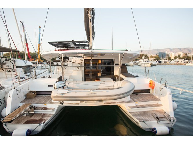 Enjoy Preveza, GR to the fullest on our comfortable Lagoon Lagoon 42