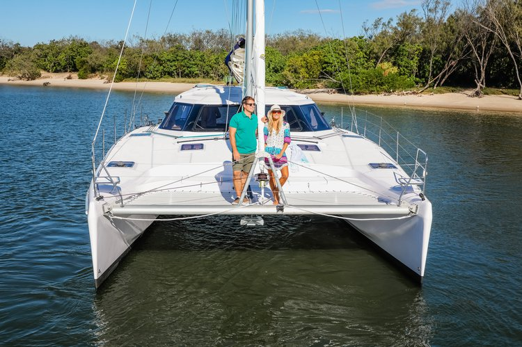 The Seawind 1260 is the creme de la creme, if you want to really impress