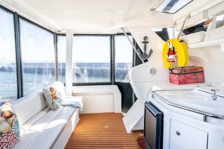 Motor yacht boat rental in Brisbane Marina, CA