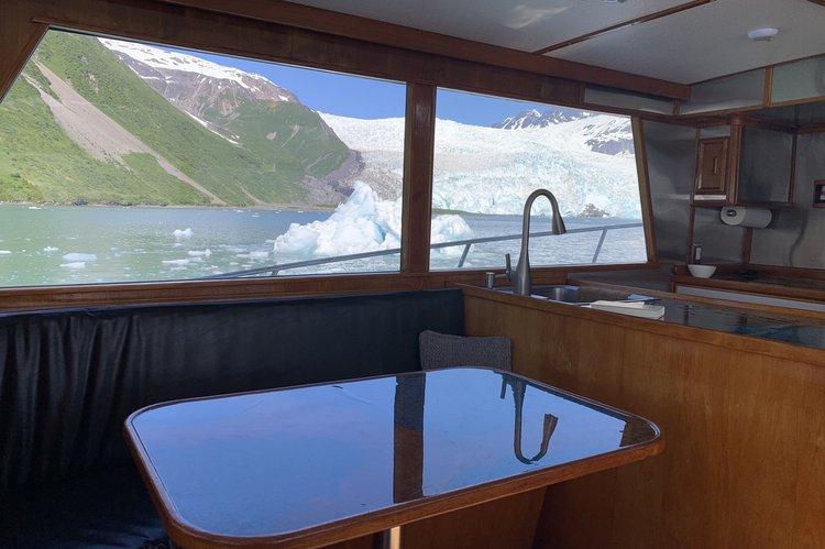 Motor yacht boat rental in SEWARD ALASKA, AK