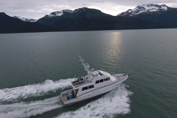 Boating is fun with a Motor yacht in Seward