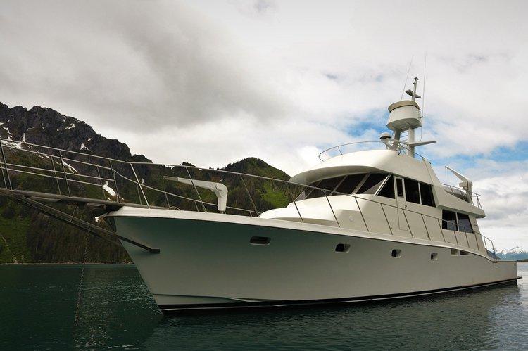 Motor yacht boat for rent in Seward