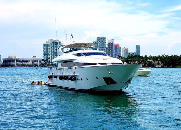Motor yacht boat rental in Bayside Marina, Miami, FL