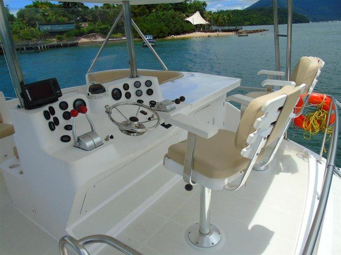 Cruiser boat rental in Estrada do Marinas 1700, Brazil