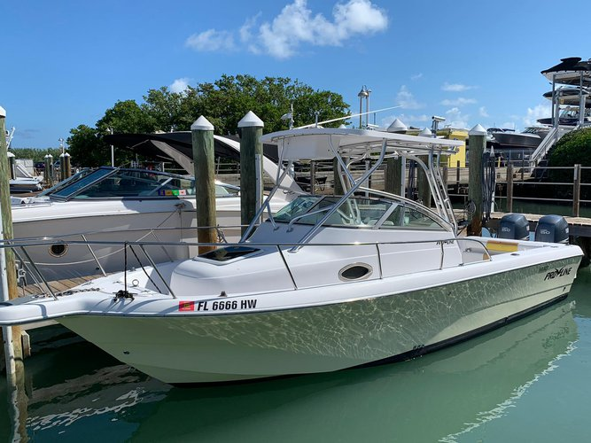 Boat for rent Pro Line 24.0 feet in Rickenbacker Marina, FL