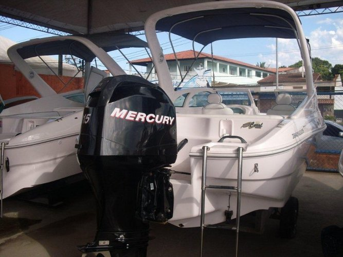 Boat for rent custom 21.0 feet in Estrada do Marinas, Brazil