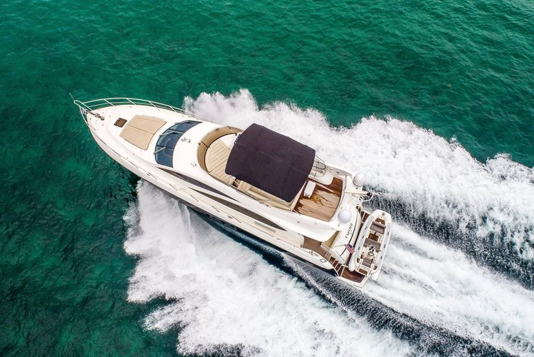 Sunseeker boat for rent in Miami Beach