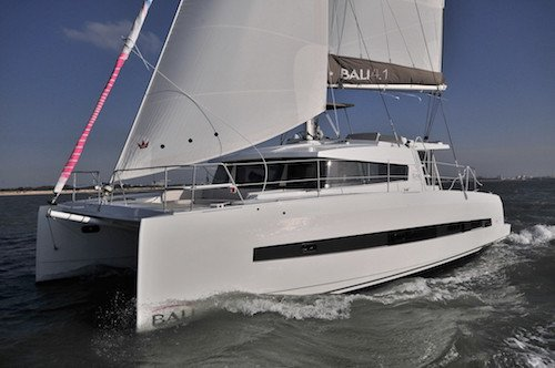 Hop aboard this amazing Bali 4.1 sail boat rental in  Australia