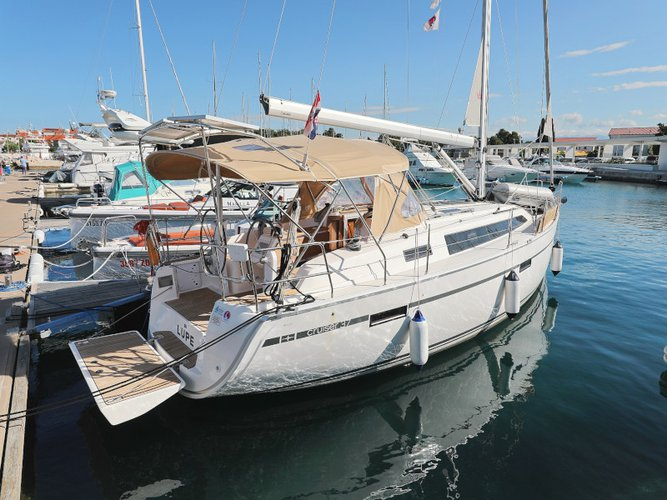 Discover Zadar in style boating on this sailboat rental