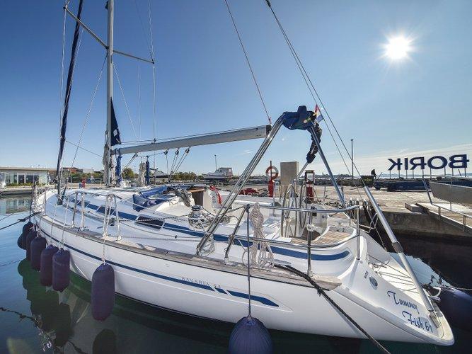 Experience Zadar, HR on board this amazing Bavaria Yachtbau Bavaria 44