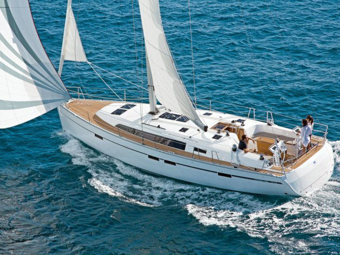 Sail Kos, GR waters on a beautiful Bavaria Yachtbau Bavaria Cruiser 46
