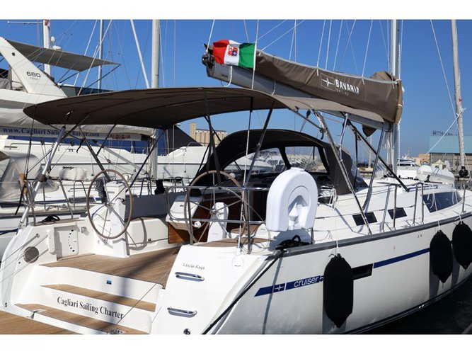 Sail Golfo Aranci, IT waters on a beautiful Bavaria Yachtbau Bavaria  Cruiser 51