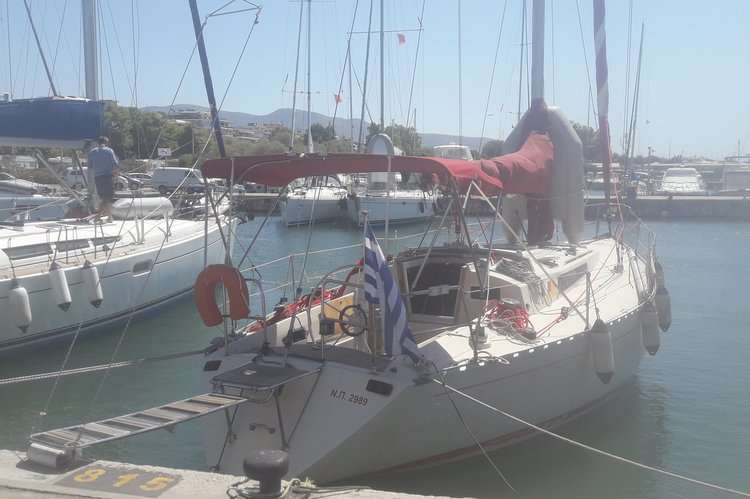 Sloop boat rental in Athens - Marina Alimos (Kalamaki), Greece