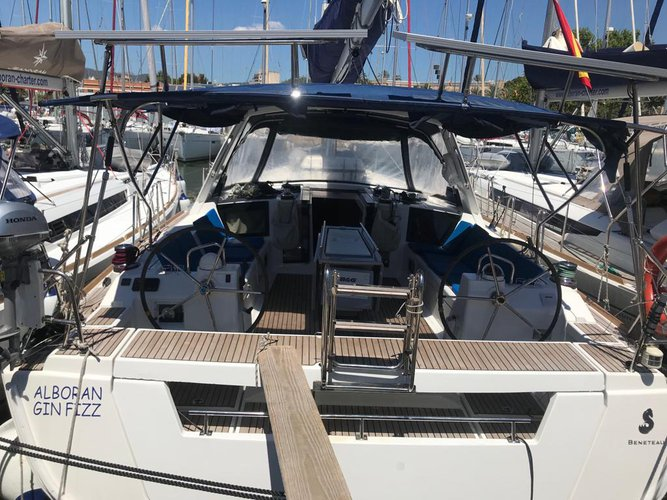 Climb aboard this Beneteau Oceanis 45-4 for an unforgettable experience