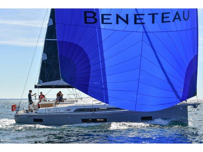 Sail Split, HR waters on a beautiful Beneteau Oceanis 46.1 -4cab