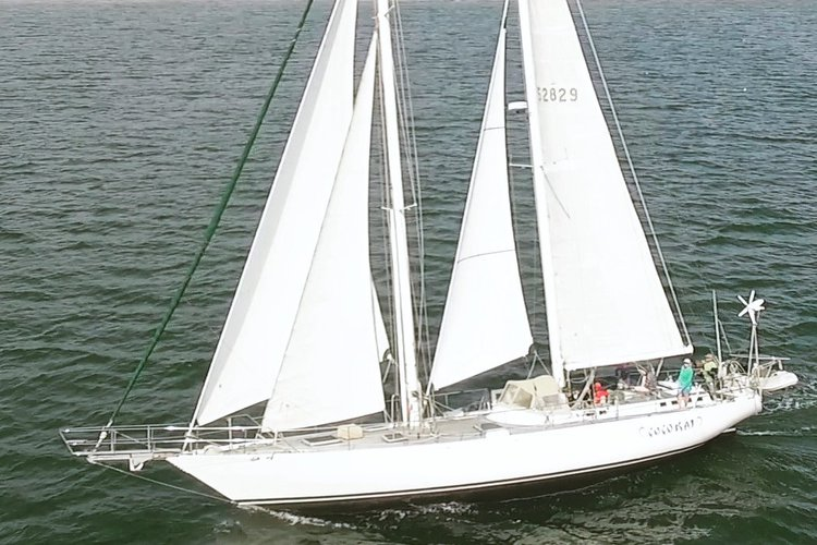 Elegant 75' World Cruiser - with 3rd party Captain for groups of 7-12 passengers