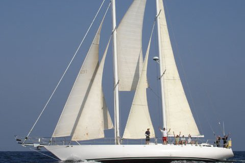 Discover Long Beach surroundings on this Staysail Schooner Custom boat