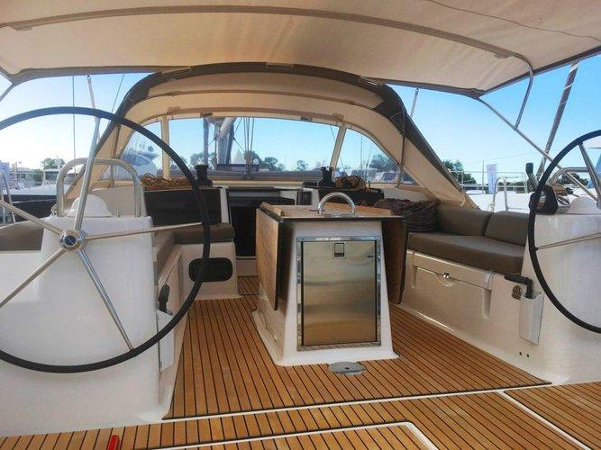 Monohull boat rental in Abel Point Marina, Australia