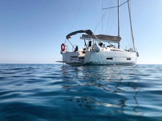 Get on the water and enjoy Furnari in style on our Dufour Yachts Dufour 390 Grand Large