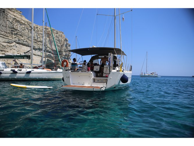 Enjoy luxury and comfort on this Dufour Yachts Dufour 460 in Corfu