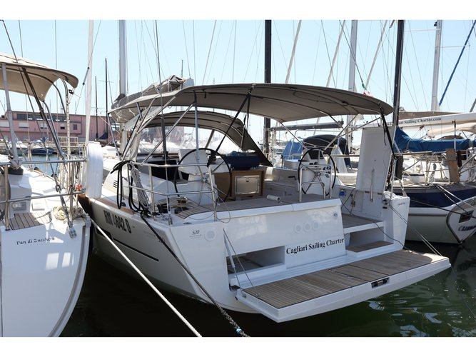 Enjoy Golfo Aranci, IT to the fullest on our comfortable Dufour Yachts Dufour 520 GL
