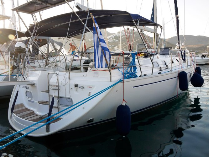Discover Paros in style boating on this sailboat rental