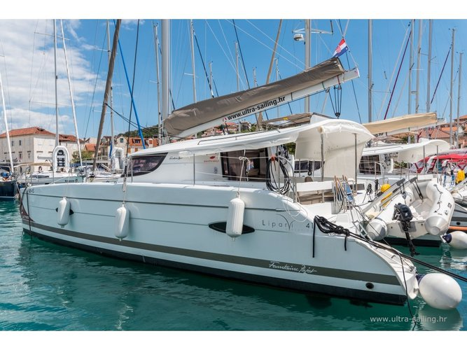 Hop aboard this amazing sailboat rental in Trogir!