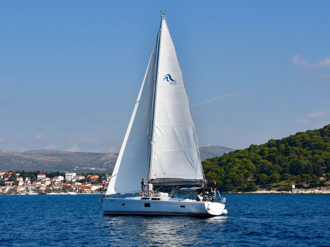 Sail Milna, HR waters on a beautiful Hanse Yachts Hanse 455