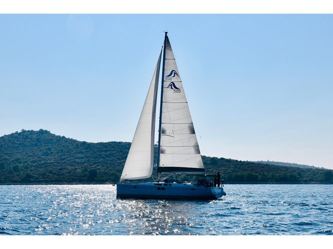 Unique experience on this beautiful Hanse Yachts Hanse 505