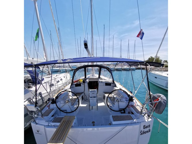 Experience Vodice, HR on board this amazing Jeanneau Sun Odyssey 449