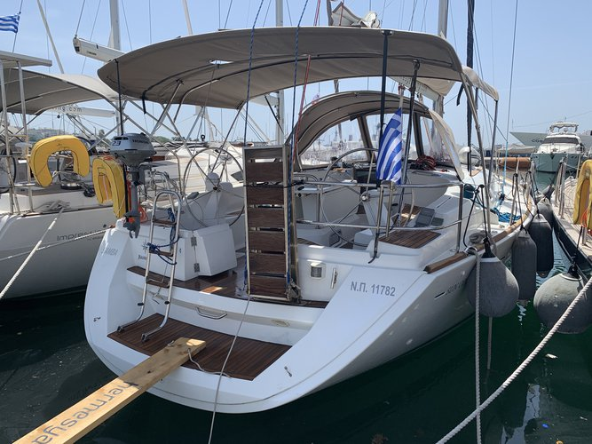 Rent this Jeanneau Sun Odyssey 45 for a true nautical adventure