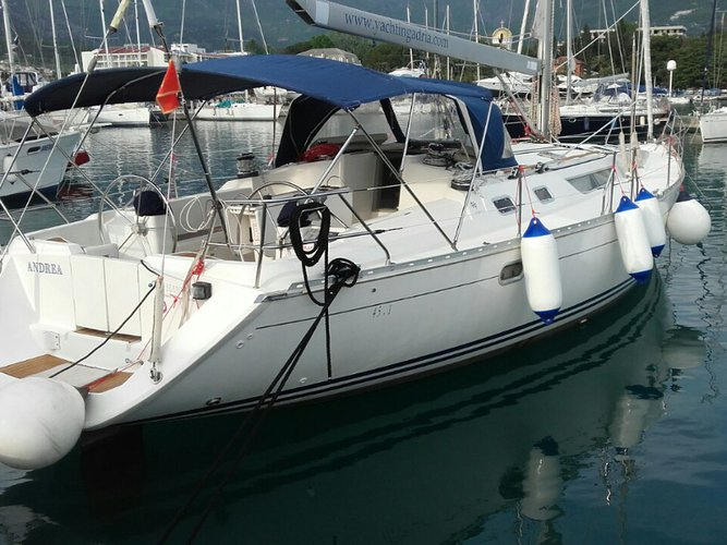 Enjoy Herceg Novi, ME to the fullest on our comfortable Jeanneau Sun Odyssey 45.1