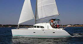 Take this Lagoon Lagoon 380 for a spin!