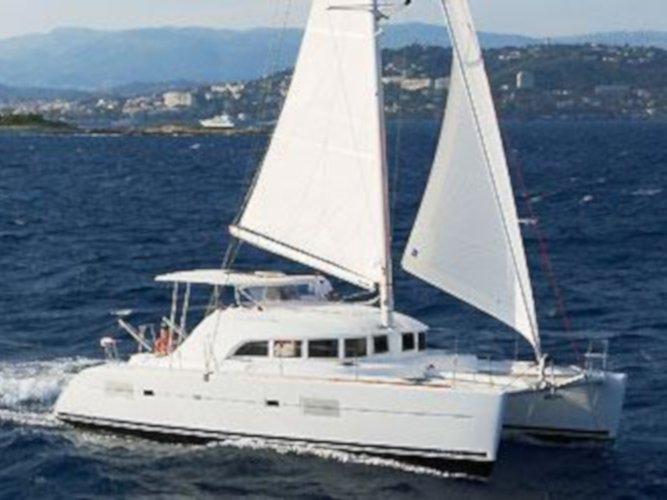 Experience Lefkada, GR on board this amazing Lagoon Lagoon 380