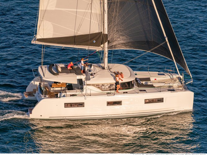 Experience Rome, IT on board this amazing Lagoon Lagoon 46