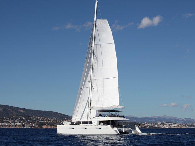 Experience Bonifacio on board this elegant sailboat