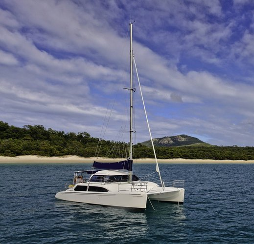 Hop aboard this amazing catamaran rental in Australia